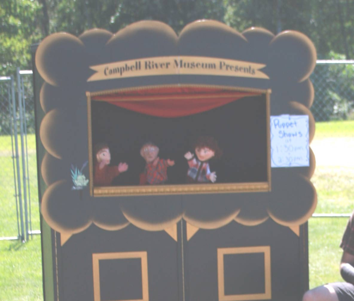puppet – Campbell River Salmon Festival
